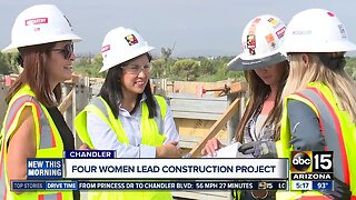 More women behind big Valley construction projects