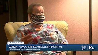 COVID-19 vaccine registration process sparks frustration