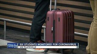UW-Platteville students monitored for possible coronavirus