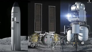 SpaceX Awarded $2.9 BILLION NASA Lunar Landing Contract