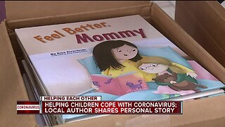 Helping children cope with coronavirus; local author shares personal story