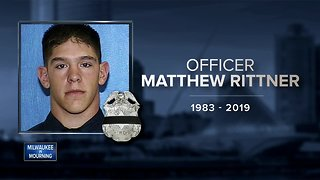 Matthew Rittner's funeral service