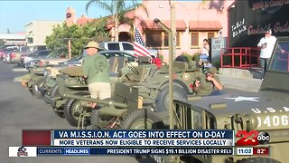 VA M.I.S.S.I.O.N. Act goes into effect on D-Day