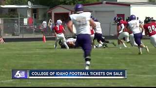 College of Idaho football tickets on sale