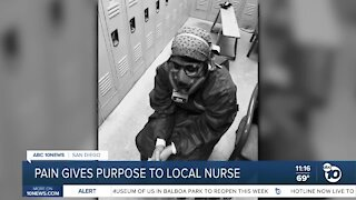 Pain gives purpose to local nurse