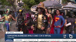 Supporting business while Comic-Con is virtual