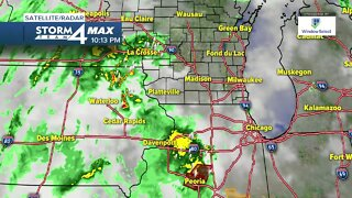 Tracking your evening forecast for Monday May 25