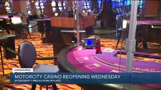 MotorCity Casino reopening Wednesday