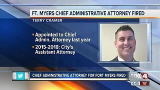Chief administrative attorney for Fort Myers fired