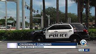 Crosswalk safety raises concerns in Palm Beach Gardens
