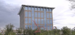 North Las Vegas City Hall asked to stay home