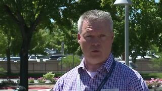Press conference on Monday's officer-involved shooting