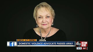 Domestic violence advocate passes away