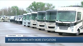 RV sales surge during COVID-19 pandemic