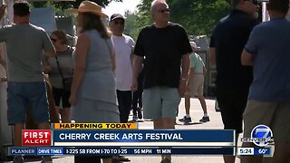 Cherry Creek Arts Festival opens today