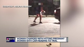 Woman charged with hitting pregnant woman with car heading to trial