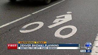 Denver Bikeway meeting tonight