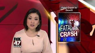 Police investigating deadly crash in DeWitt Township