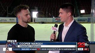 Live Interview: Condors Center Cooper Marody