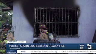 3 dead in Mountain View house fire, authorities suspect arson