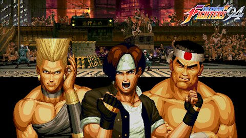 Gaming with CTP: King of Fighters '94 Part 3 of 8: Japan/Hero Team Playthrough!