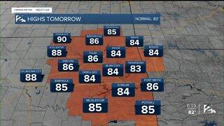 Monday 6pm Weathercast