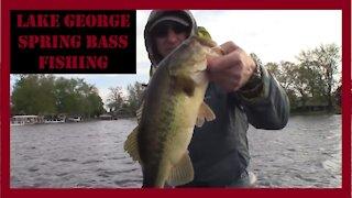 Lake George Bass Fishing Michigan/Indiana