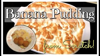 🍌 Homemade Banana Pudding Recipe 🍌 With Real Custard