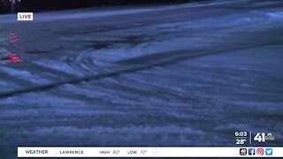 6 a.m. road conditions in Olathe