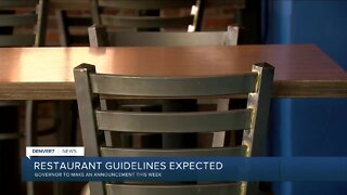 Finalized guidelines for initial reopening of Colorado restaurants for dine-in options unveiled