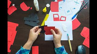 4 Fantastic Easy Paper Crafts @ 5 minute idea of Art