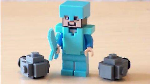 Lego Minecraft Silverfish Tutorial