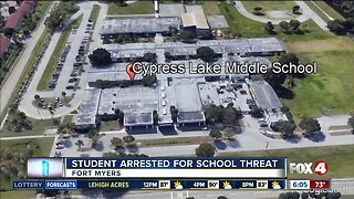 Cyppress Lake student arrested for school threat
