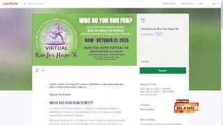 Virtual 5K Race for Hope