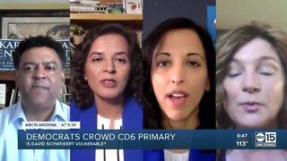 Democrats crowd CD6 primary
