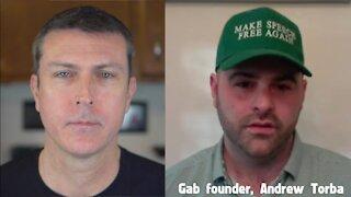 Saving Free Speech Online - Gab founder Andrew Torba