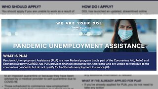 Self-employed worker faces unemployment filing issues