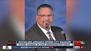 McFarland picks interim city manager