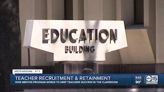 Mentor program works to keep teachers successful in Arizona