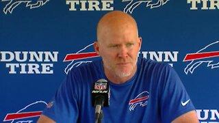 Buffalo Bills HC Sean McDermott speaks on the first day of training camp