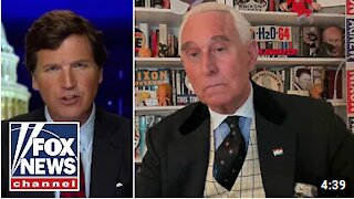 Roger Stone speaks exclusively to Tucker Carlson following pardon from Trump