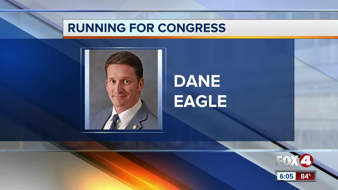 Dane Eagle announces candidacy for U.S. Congress