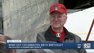 WWI Veteran celebrated 98th birthday