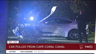 One person seriously hurt following crash into canal