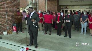 Teachers fighting bill placing requirements on teachers unions