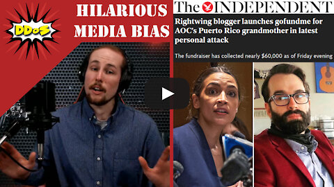 """DDoS- AOC """"Attacked"""" by Conservatives Raising $100,000 for Her Grandmother"""