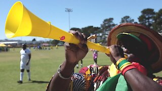 SOUTH AFRICA - Cape Town - Africans celebrates with song and dance (Video) (cu6)