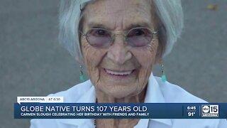 Arizona woman turns 107 years old