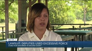 Woman claims excessive force by sheriff deputies led to miscarriage