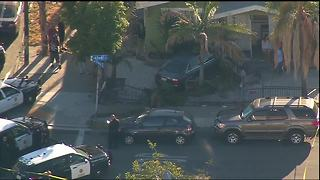 Car crashes into City Heights home